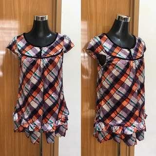 Printe Velvet Top / Dress