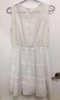 Bread and butter white dress size 0