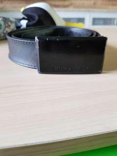 Authentic Burberry Belt