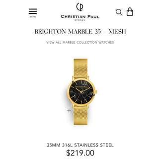 🆕 澳洲 手錶 Christian Paul Marble Brighton 35mm MBG3521
