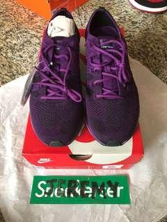 Nike Flyknit Trainer Dark Purple