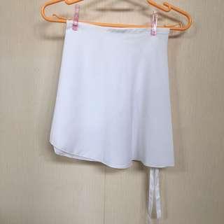 芭蕾舞紗裙 雪紡裙 白色