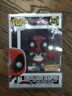 Funko Pop Cheerleader Deadpool #325 Box Lunch Exclusive