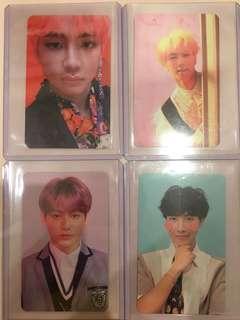 WTT BTS Answer Photocards
