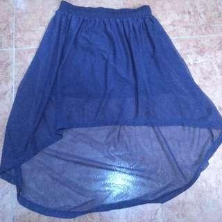 royal blue mermaid skirt ~ Apartment