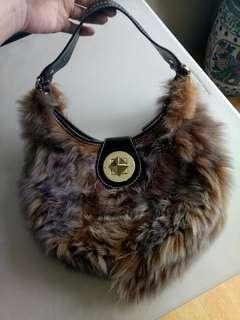 Kate spade authentic fur bag