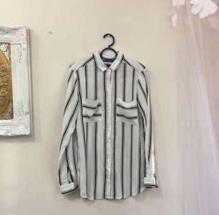 Stripe padini shirt