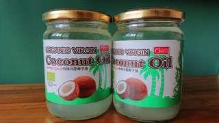 🚚 (2瓶組)康健生機有機冷壓椰子油