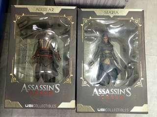 UbiCollectibles Assassin's Creed Figurines - Maria & Aguilar