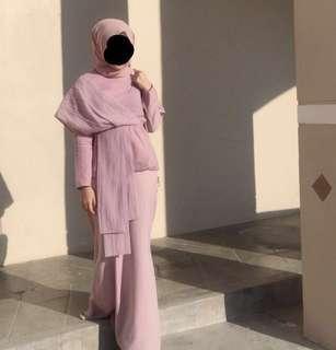 Set poplook premium top + skirt