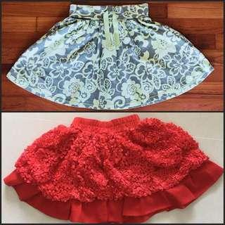 Girl Skirts (all 3 for $10)