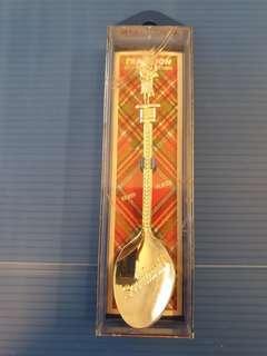 #3×100 Scotland souvenir spoon