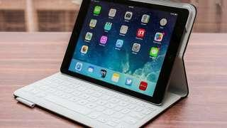 Logitech Fabric Keyboard Folio for iPad Air
