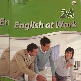 English at Work 2A