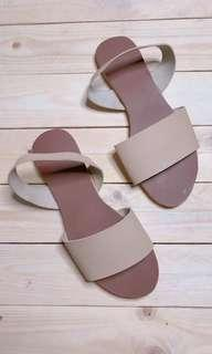 Trend leather flat sandals 1