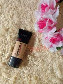 L'Oreal Infallible Pro Matte Shade 105 preloved