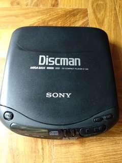 Sony Discman D-130 Portable CD Player