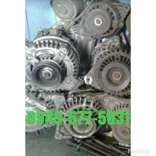 Japan Surplus alternator and starter (auto parts)