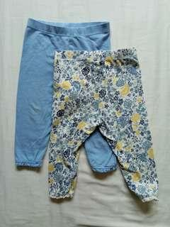 Mothercare Baby Girl Pants 9-12 month