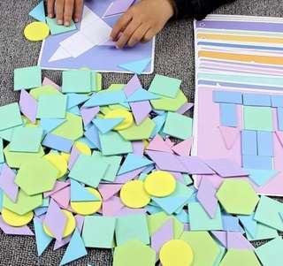 Tangram Puzzle Blocks