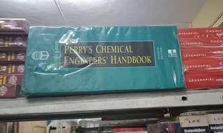 Perry's Chemical Engineers' Handbook 7th, 8th and 9th edition