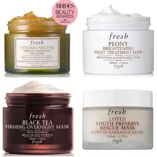 ⭐️Up To 50% Off Retail Price⭐️Fresh Face Masks AUTHENTIC SEALED BRAND NEW With Expiry Dates