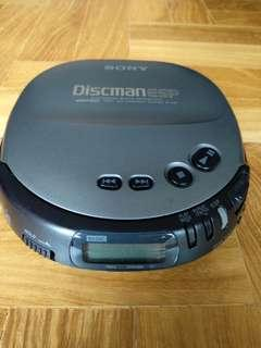 Sony Discman D-247 portable CD player