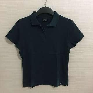 Country Fiesta Black Polo T-Shirt