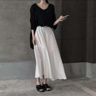 🚚 超仙白色長裙