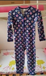H&M連身睡衣(合4-6歲 size 116)