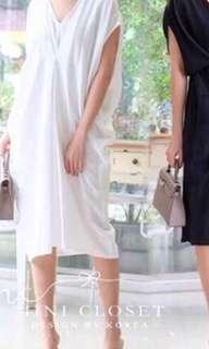 Romania dress white sale