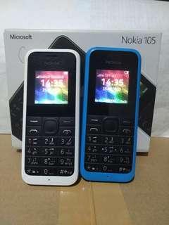 Nokia 105 dijual 2 pcs MURAH
