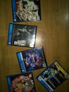 Ps4 games 1k each last price meetup or delivery