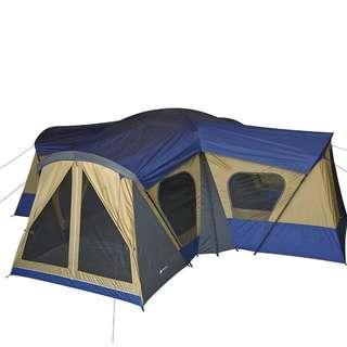 Camping tent rental