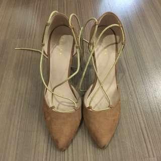 Zalora Heels lace up #50Under
