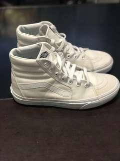 Vans High Top White Canvas