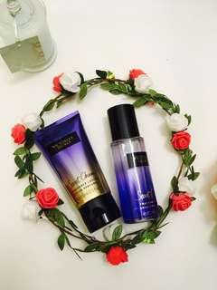 Lotion and fragrance set