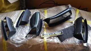AIR SCOOP HONDA JAZZ GE8