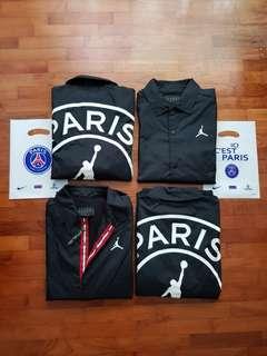 🚚 Jordan x PSG Coach Jacket