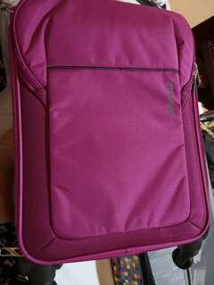 Brand New Authentic American Tourister Pink Cabin Size Luggage
