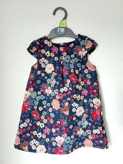 Mothercare embroided dress 12-18months