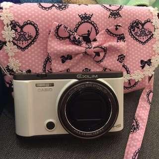 🚚 Casio ZR3500 數位相機(白色)(二手)