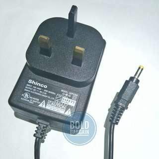 Shinco 9V 2.2A AC DC Adapter Charger For Portable DVD player