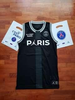 🚚 Jordan x PSG Basketball Jersey - XS (Authentic)