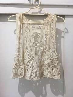 Boho Knit Vest