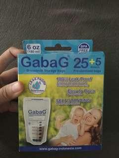 Gabag kantong asi breastfeeding storage #oktosale