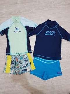 🚚 2~3歲男童成套泳裝