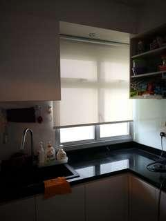 Kitchen/Yard Roller Blinds