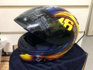 AGV K-3 Rossi Moto GP Full Face Helmet Blue