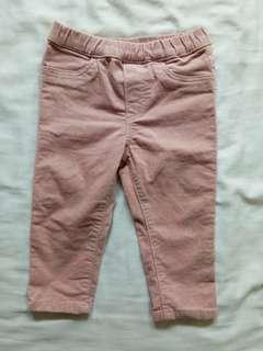 H&M pants 9-12months(up to 18months)